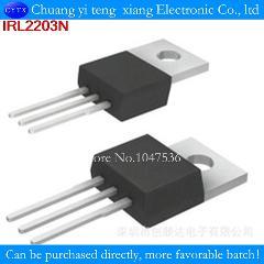 10pcs/lot FET L2203N IRL2203N TO-220  MOSFET(Vdss=30V, Rds(on)=7.0mohm, Id=116A