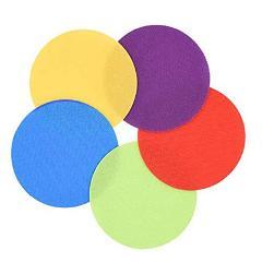 30pcs Flat Spot Marker Kids Game Training Tag Toy Educational Magic Sticker