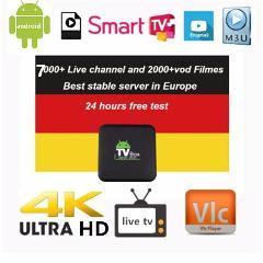iptv tyingon Europe live IPTV Germany IPTV French IPTV 7000+ live Free VOD Support Android m3u enigma2  2000+Vod