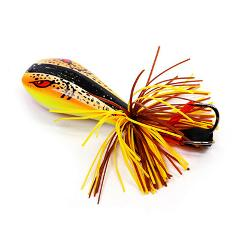 Lure Topwater Fishing Frog Snake Shaping Luring 90mm 10g Double Strong Hook